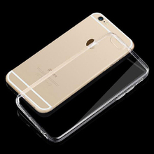 Slim Clear TPU Case For iPhone 4s 5s 6 6S 6plus 6S Plus Silicon Transparent Phone Back Cover Coque Skin Silicone Mobile phone
