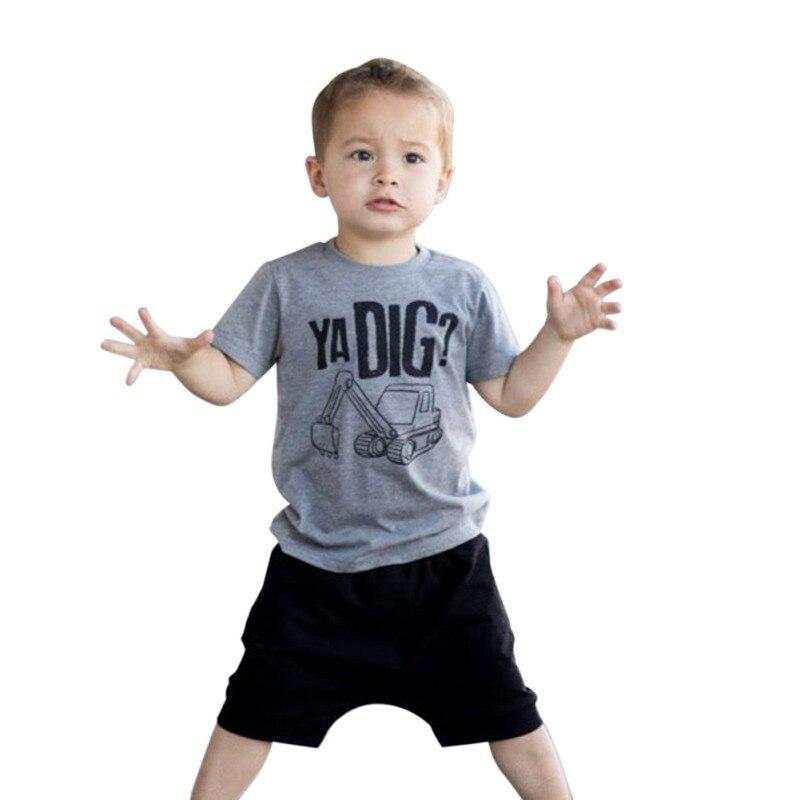 Toddler Boys Ya Dig T Shirt & Shorts Set 13