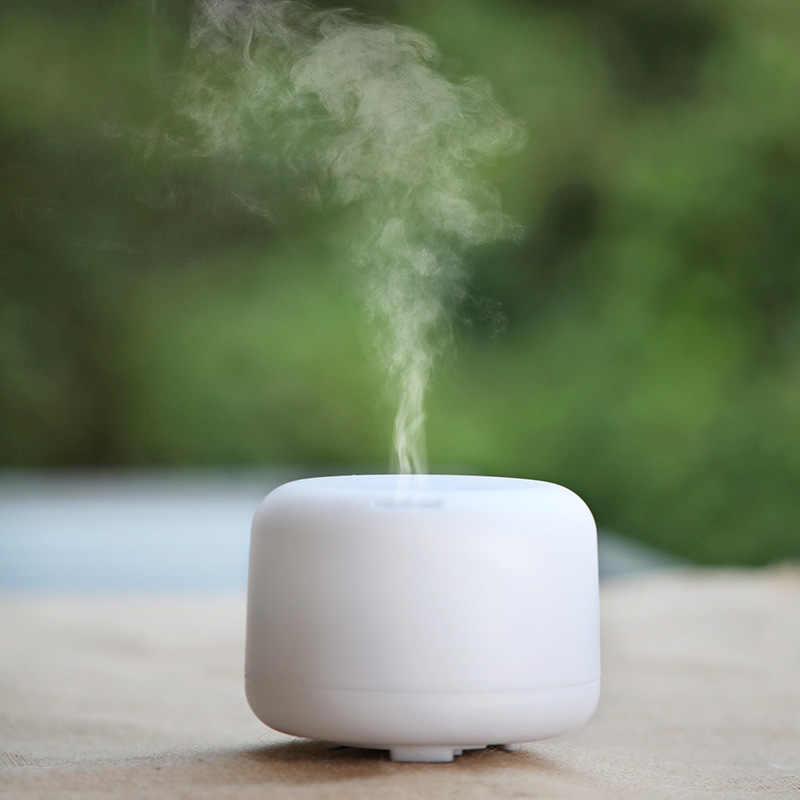 500ML New Arrival Warm LED Night Light EU US plug Humidifier Household Aroma Diffuser Beautiful Mist Maker 24V<br>