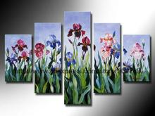 The Flowers Open To Open Canvas Painting Ideas Realistic Abstract Painting Bathroom Background Abstract Oil Paintings On Can
