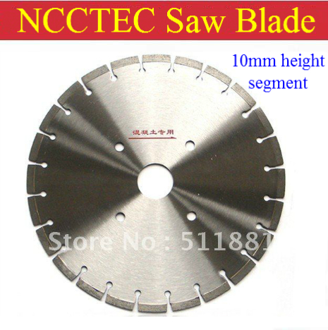 [10mm height segment] 16 NCCTEC PREMIUM diamond saw blade | 400mm concrete cement road cutting wheels<br><br>Aliexpress