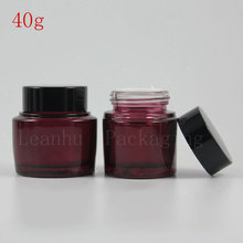 40G Red Cream Jars Cosmetic Packaging,Empty Makeup Containers,Eye Cream Can,Women's Beauty &Skin Care Exclusive Use,Wholesale