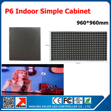 TEEHO P6 Indoor Led Display screen module/matrix RGB Full color p6 led panel simple cabinet indoor led video cabinet