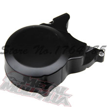 BLACK DIRT PIT BIKES ALLOY ALUMINUM ENGINE COVER XR CRF 50 70 125CC ATV LIFAN LF YX 110(China)