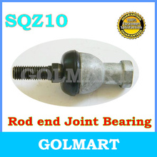 4pcs SQZ10RS  female metric threaded Winding Ball Joint right hand tie rod ends bearing