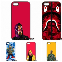 For Motorola Moto E E2 E3 G G2 G3 G4 PLUS X2 Play Style Blackberry Q10 Z10 2016 Hot Bape Shark Army Cell Phone Case Cover