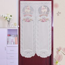 Classical High Grade Dog Knitting Curtain Romantic Room Feng Shui Decoration