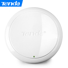 Tenda i9 300Mbps Indoor Ceiling Wireless WiFi AP Access Point Router WiFi Repeater Extender with 802.3af 9W POE Power Adapter(China)