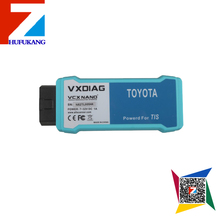 2016 new TOYOTA scanner VXDIAG VCX NANO for TOYOTA TIS Techstream V10.30.029 Compatible with SAE J2534 WIFI Version