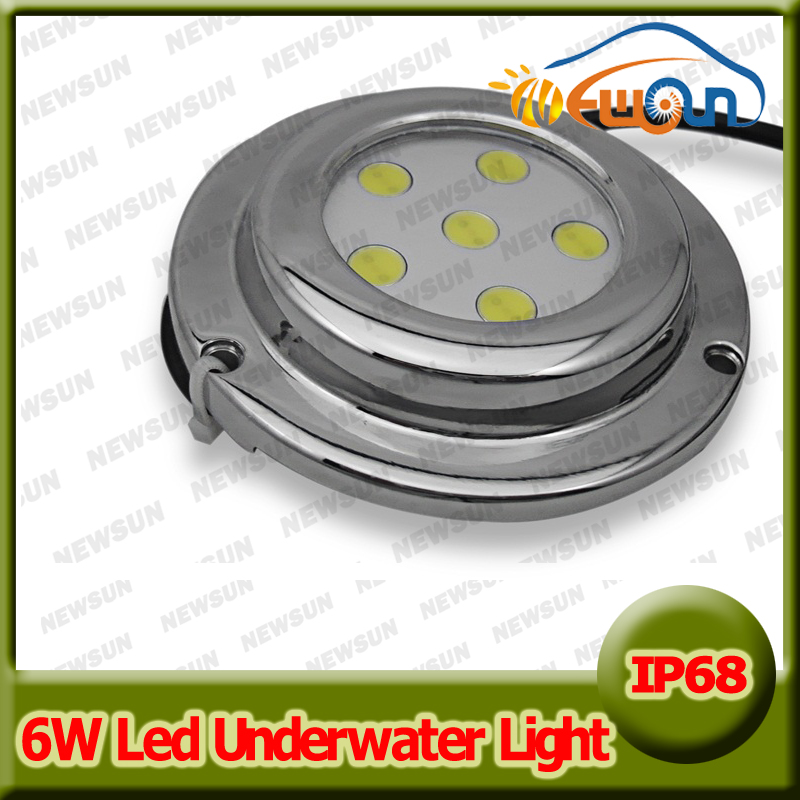 New 6W LED Underwater Light White Red Green Blue Yellow Underwater Lamps for Marine Boat Small Fountain 12V IP68 Led Lamp<br><br>Aliexpress