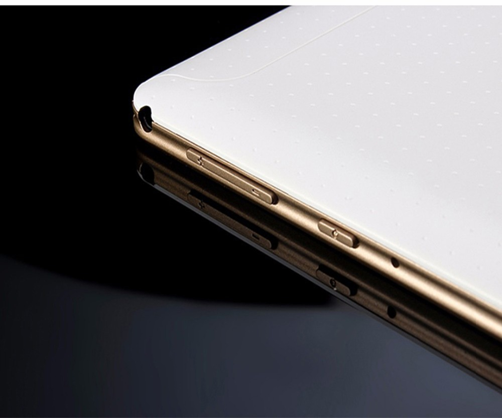10 inch tablet gold on off