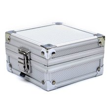Best Sale Aluminum Case Box with Clasp for Rotary or Coil Tattoo Gun Machine