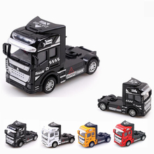 Hot Toys 1:32 Diecast Model Cars Alloy Truck Toys 1/32 Metal Model Car Dinky Toys For Kids City Vehicle Brinquedos