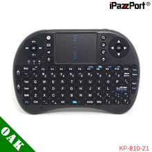 Free Shipping - Original iPazzPort 2.4G Wireless Keyboard with Touchpad for Android TV Box /IPTV High Quality(China)