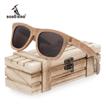 BOBO BIRD Polarized Men's Brand Mirror Eyewear Women Handmade Original Wooden Sunglasses for Friends as Gifts 2017 Dropshipping(China)