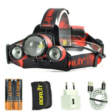 HeadLamp 12500 Lumens B22 ZOOM Head light L2 LED Hunting Lamp mining lamp Fishing Lights Headlight Head Lamp Including battery