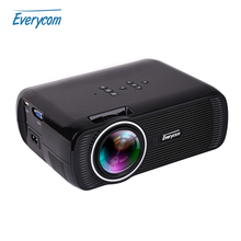 2016 HOT Everycom X7 X7S X7SD Mini Video Projector Support FULL HD 1080p Home Theater led TV Beamer mini portable lcd Proyector