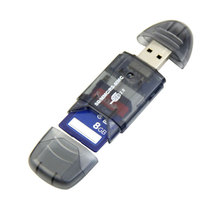 High Quality Portable High Speed USB Memory Card Reader Writer Adapter for MMC SD SDHC Card High Quality USB Gadgets