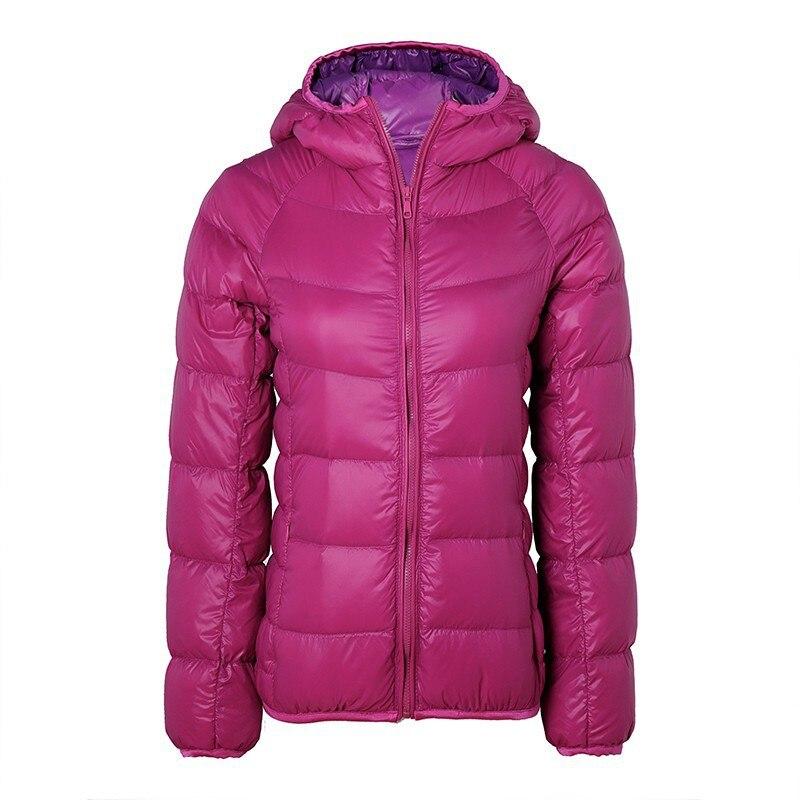 2017 women ultra light down jacket hooded winter duck down jackets slim long sleeve parka zipper 6 colors coats pockets H 291Одежда и ак�е��уары<br><br><br>Aliexpress
