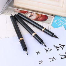 W Special Offer New Soft Chinese Japanese Calligraphy Brush Ink Pen Students Practice Writing Drawing Tool Craft 3Pcs
