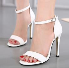 Sexy Women;s High Heels Stiletto Ankle Strap Ladies Night Club Sandals Shoes Pumps myA288-20