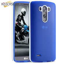 KISSCASE Soft Silicone Case For LG G3 D855 D830 D850 D83 Slim Dual Hit Color Protect Flexible Mobile Phone For LG G3 Back Cover