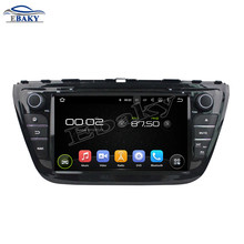 NaviTopia 8inch 1024*600 Quad Core Android 5.1 Car DVD Radio For Suzuki SX4/S Cross 2014 with GPS/wifi/Bluetooth(China)
