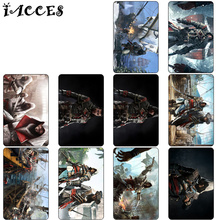 30 pcs/lot Assassin's Creed Anime Card Stickers Cool Game Classic Toys Poster Souvenir DIY  Bus ID Card Stickers kids Party Gift
