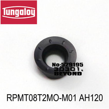RPMT08T2MO-M01 AH120/AH725,milling turning  insert original tungaloy tungsten carbide inesrt R4 RPMT 08T2 MO-M01