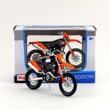 Maisto/1:18 Scale/Diecast model motorcycle toy/KTM 450 EXC Supercross Model/Delicate Gift or Toy/Colllection/For Children