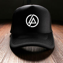 Fashion Unisex Baseball Caps Men Brand Punk Snapback Punk Simple Solid Hats For Women Printed Linkin Park Rock Band