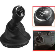 5 Speed Gear Stick Shift Knob & Gator For VW /Volkswagen /Transporter T5 T5.1 Gp
