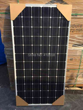 free shipping solar system 2000w monocrystalline solar panel 200w 10pcs 2kw grid tie system 17% charing efficiency