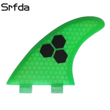 srfda New hot sell surfing GAM /best surfboard fins SIZE -XL with fiberglass honey comb material for surfing/fcs surfing fins(China)