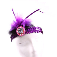 4pcs sex products sexy chick bachelorette party disco club favor bride to be headband fun hen event party supplies wedding(China)
