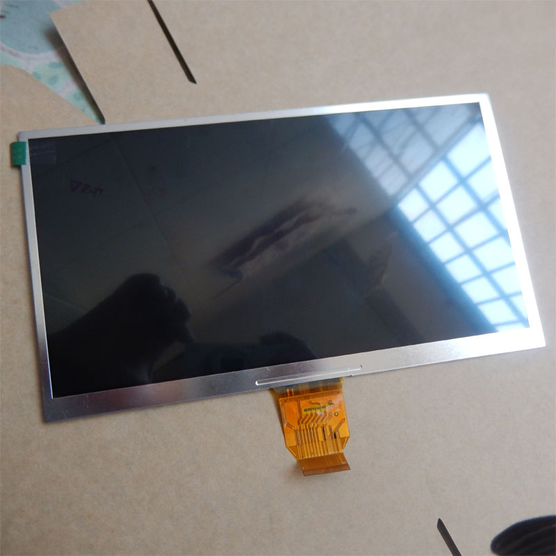 10.1 inch  1024X600 40pin  LCD Display screen  with LCD number HYB101F4007 for 10.1 inch  tablet  pc have the same number LCD<br>