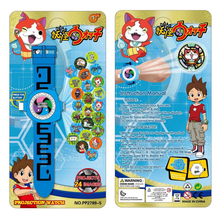 1Pcs/set Cute Kids Anime Cartoon DX Yokai Watch Wrist Lighting Sound Watch with 3 Medals Cosplay Action Figures Toys Gifts