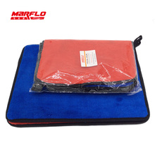 MARFLO Blue Red 1000gSM Car Wash Microfiber Cloth Towel Car Paint Gloss Seal(China)