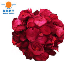 Free shipping Chinese herb tea organic natural dried red rose petals