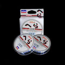 2015 Spearfishing Daiwa High Quality Available 1pcs 100m Fluorocarbon Fishing Line 0.12-0.18mm Nylon Leader Lines Free Shipping(China)