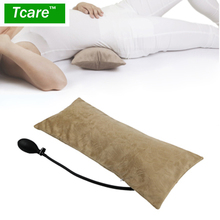 Tcare Multifunctional Portable Air Inflatable Pillow for Lower Back Pain,Orthopedic Lumbar Support Cushion,Travel,Waist,Knee(China)