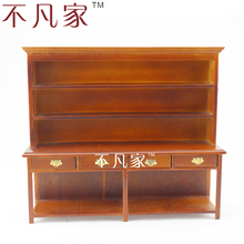 DOLLHOUSE 1:12 SCALE MINIATURE HIGH QUALITY WOODEN CUPBOARD(China)