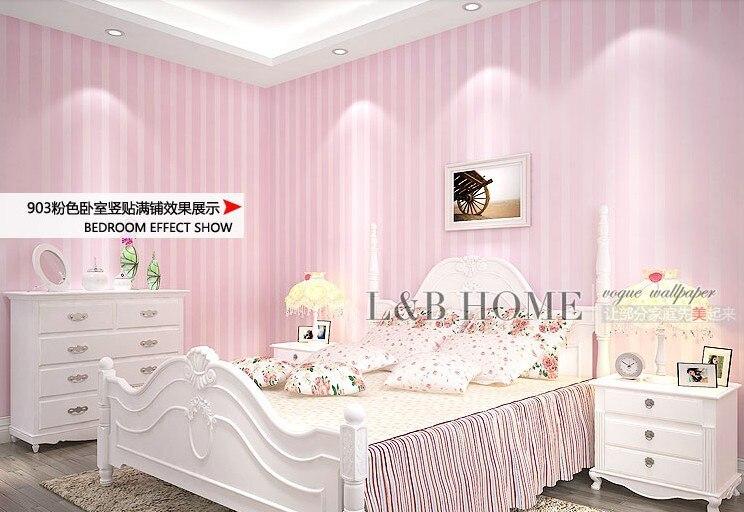 Modern 3d Non-woven Wallpaper Pink Stripe Tv Background Wall Wallpaper For Livingroom Wallpaper Papel De Parede Wallpaper Roll<br>