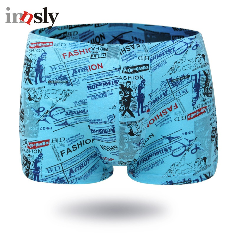 Boxer Shorts Men Underwear Male Boxers Cotton Underpants Mens Underwear Big Size Plus Size Boxers Men's Panties Breathable Panty