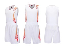 2018 New Arrival High Quality Men Basketball Jerseys Sport Training Breathable Basketball Suits Large Size Can Customized L-5XL(China)