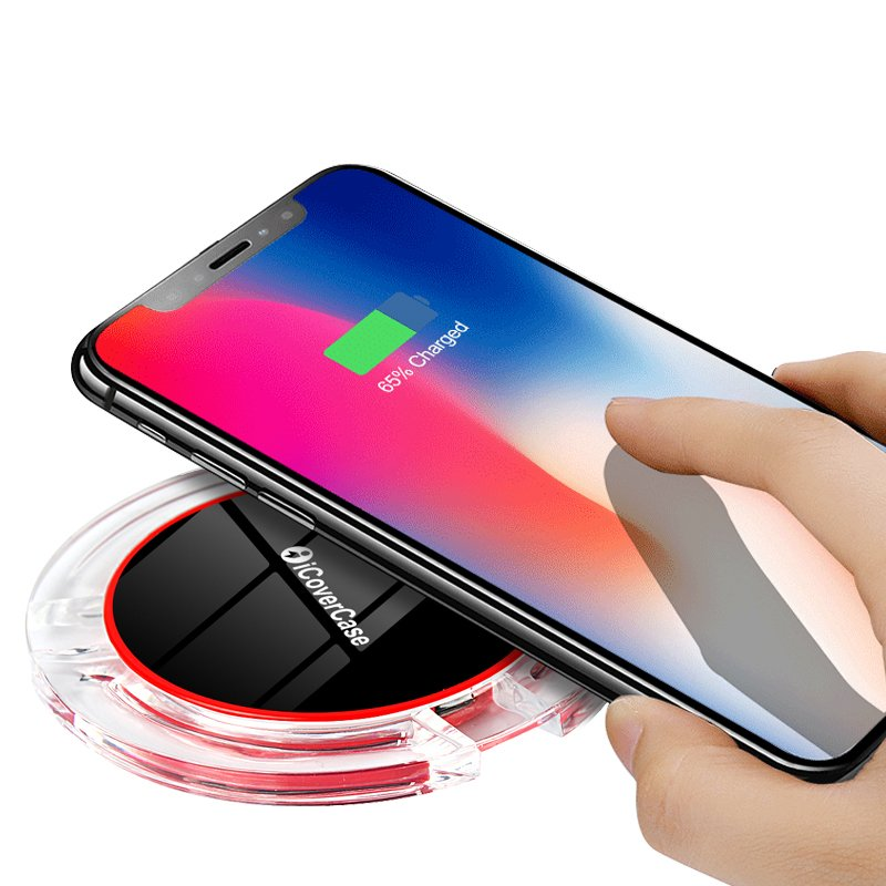 Wireless Charger For Samsung Galaxy Note 5 S7 S6 Edge Charging Power Bank Phone Accessory Pad For Samsung Galaxy 5 S6 S7 Charger 11