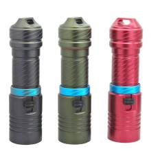 Mini 26650 Underwater flashlight Diving led lights waterproof Flash light 18650 torch by 18650 or 26650