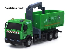 free shipping 1:32 truck car model Heavy tractor alloy metal diecast Trailer baby toys Iveco Hongyan IVECO Christmas gifts