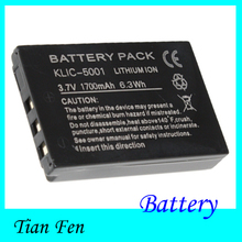 High Quality 1PCS Camera Battery KLIC-5001 KLIC5001 For Kodak Easyshare DX7630 DX7440 DX7591 DX7630 Z7590 Z730 Z760 P712 P880(China)