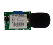 Fast Free Ship Industrial Noise Decibel Sound Sensor Module Output in I2C/RS485/TTL Module AS11-X(China)